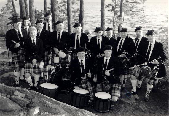 Sierra Highlanders Pipe Band 1993