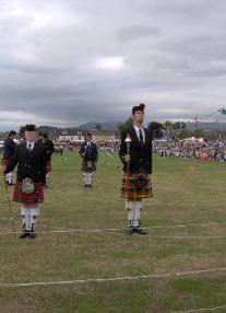 Drum Major Competition at Crieff